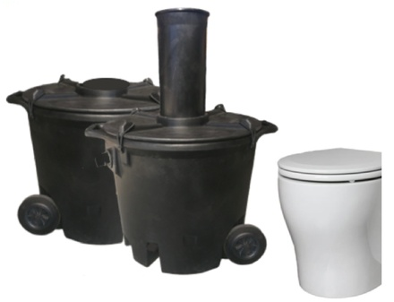 CM HP - Standard Batch System Eco Toilet